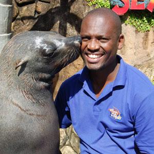 Mbhabe Daniel Mtetwa - Animal Behaviourist: Seals, Dolphins and Penguins - SAAMBR, Sea World Ushaka