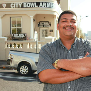 Selwyn Makeet - Control Room Manager - City Bowl Armed Response
