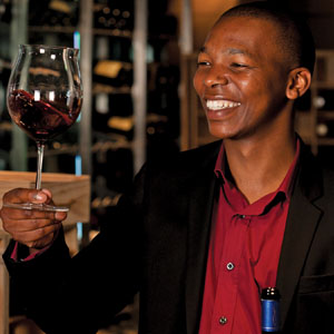 Luvo Nteza - Wine Sommelier - The One&Only Cape Town