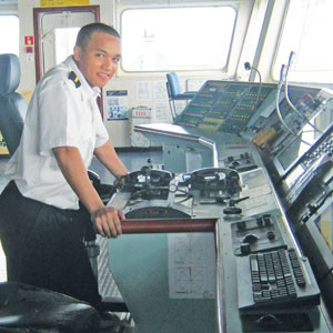 Navigating Officer