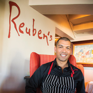 Chef Reuben Riffel on what it takes to achieve success